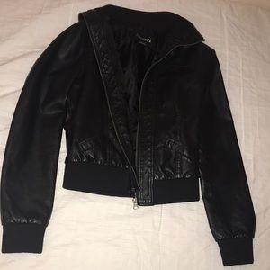 Forever 21 Jackets & Coats - Black leather jacket